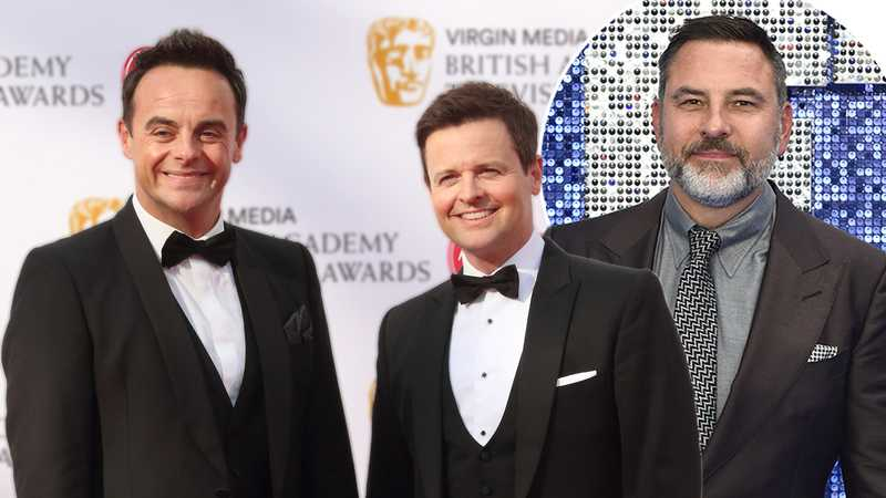 David Walliams shares throwback with Ant McPartlin and Dec Donnelly