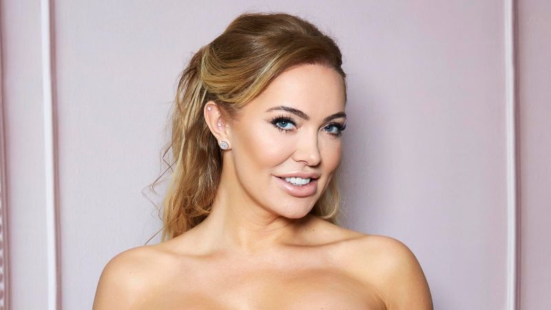 Aisleyne Horgan-Wallace has biggest boob implants 'allowed by LAW'