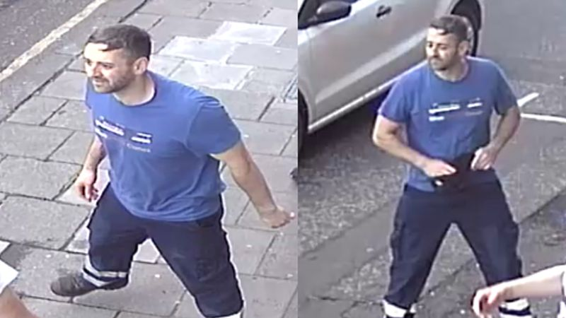 Police investigating Edinburgh attack release CCTV pictures