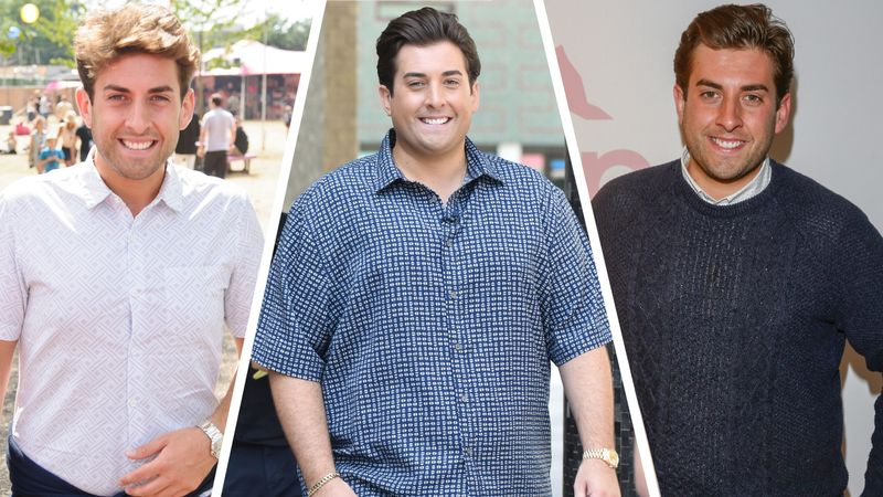 TOWIE: James Argent's weight loss journey over the years
