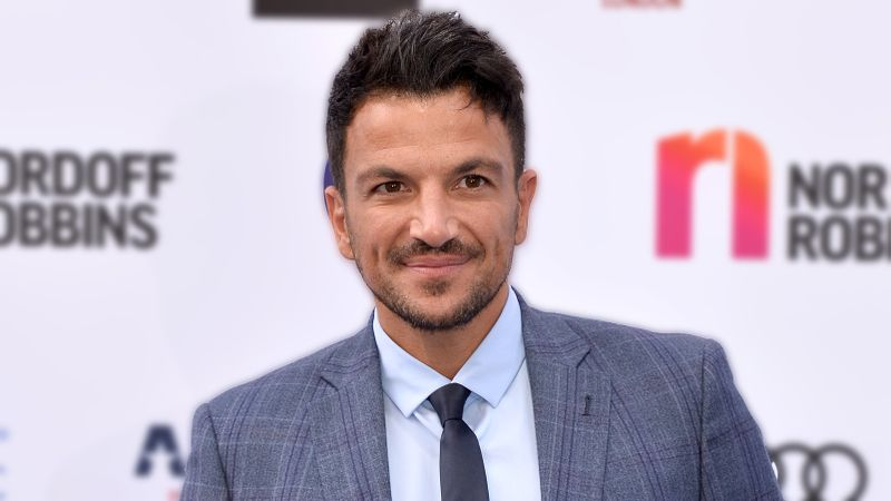 Peter Andre shows off HUGE bulge in racy snap