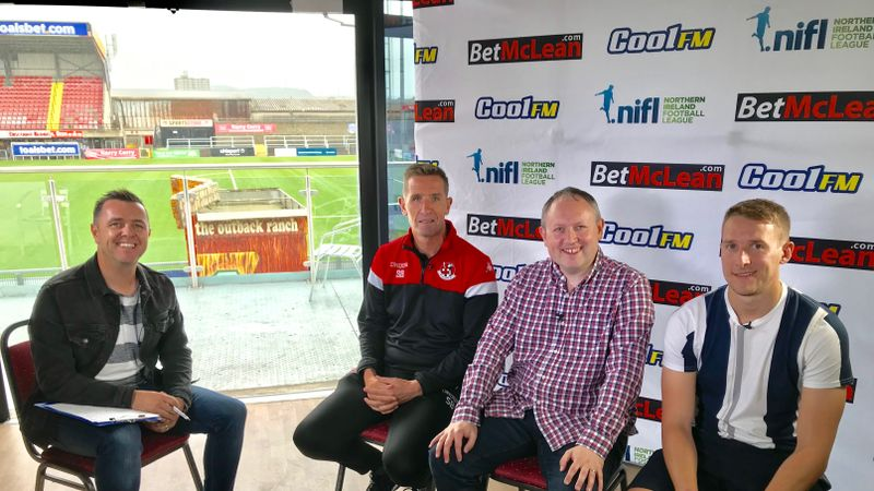 Football Show: Baxter on Crusaders' title chances & Ballymena's Addis talks about his wonder-goal