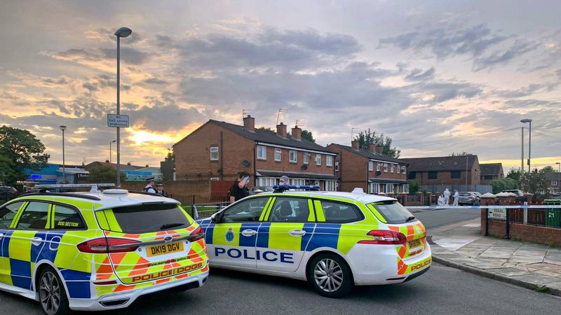 Double shooting in Croxteth