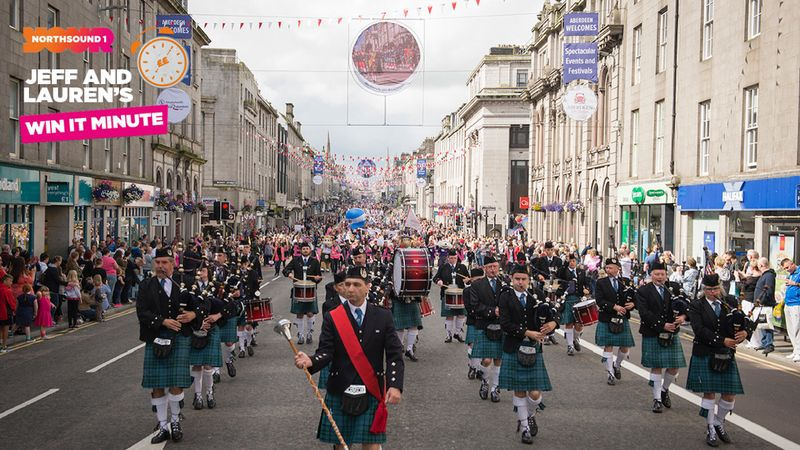 Win it Minute: Celebrate Aberdeen parade takes place along which street?