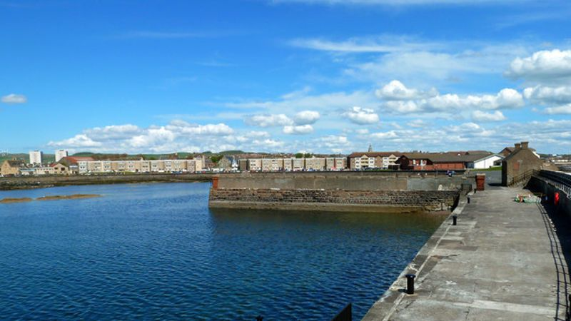 Car found in Saltcoats harbour