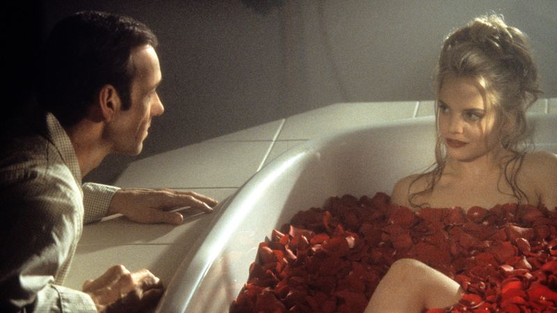 Christina Hendricks From Mad Men Is In The American Beauty Poster