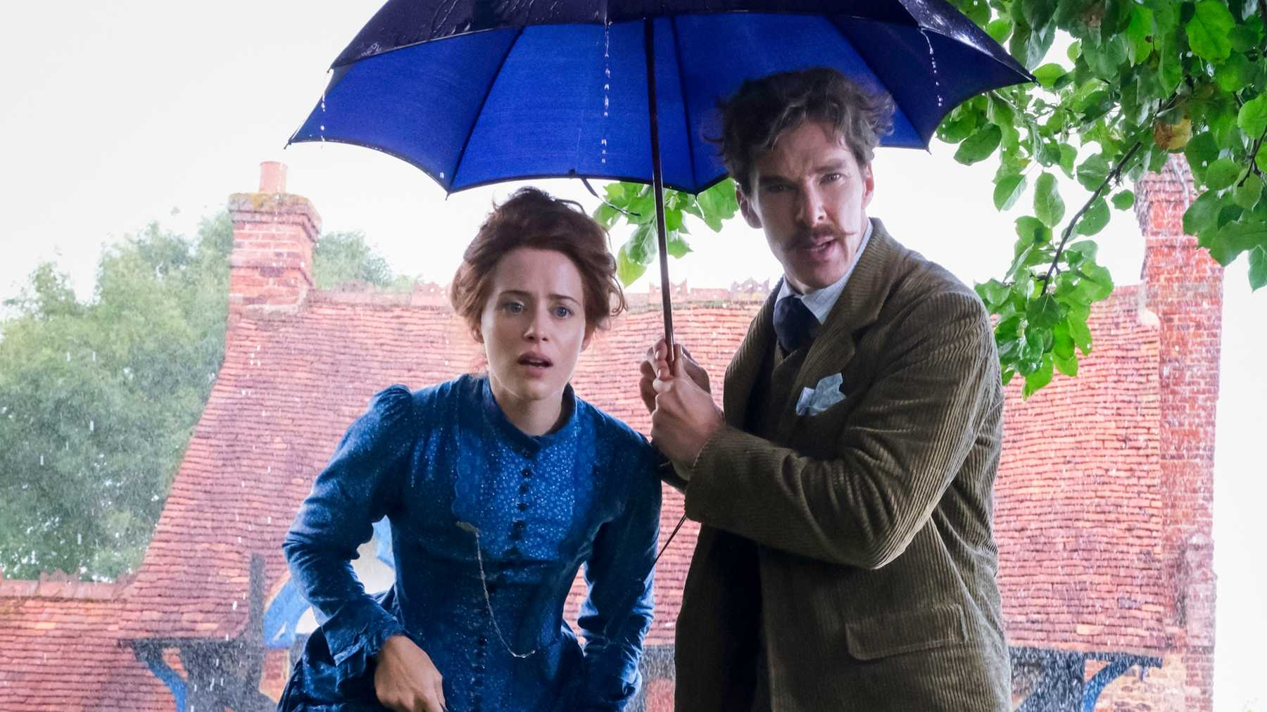 Claire Foy and Benedict Cumberbatch In Louis Wain