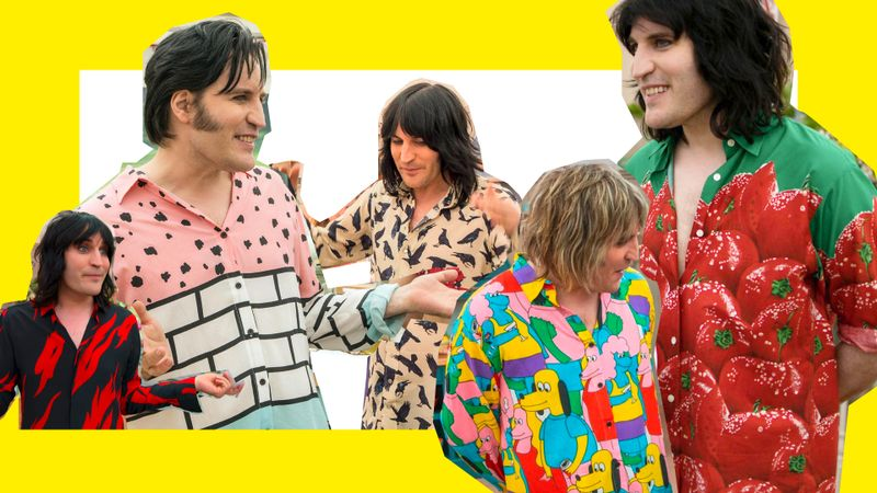 Noel Fielding's Shirts Are The Real Winner Of Bake Off