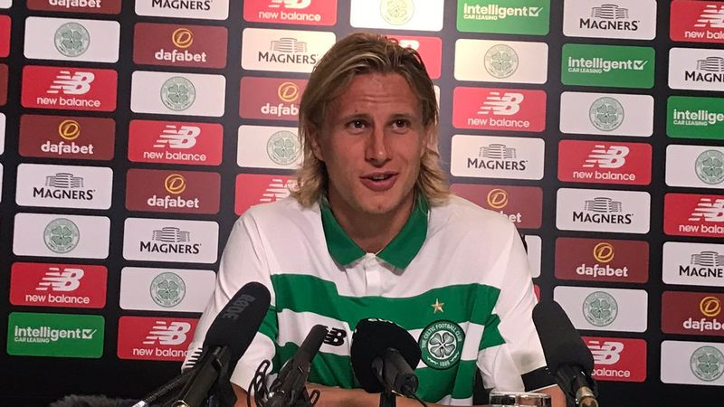 Bauer hopes hard work will please Celtic fans