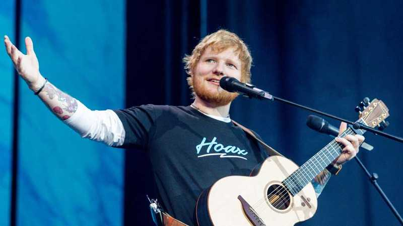 Ed Sheeran shares emotional post as his '÷' tour comes to an end