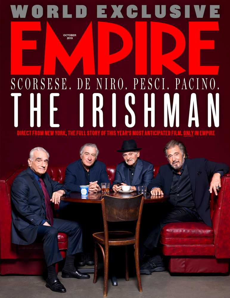 Empire – October 2019 – The Irishman cover