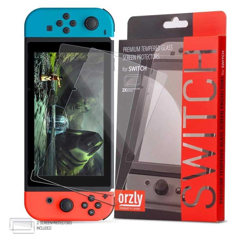 Tempered Glass Screen Protector, £7.88