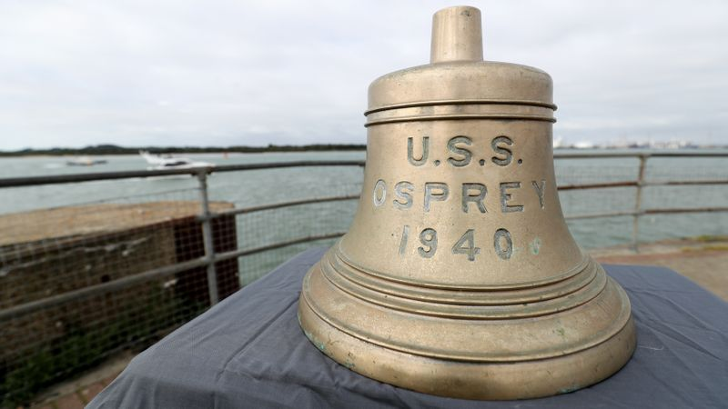Bell from US warship sunk off Isle of Wight to be returned home
