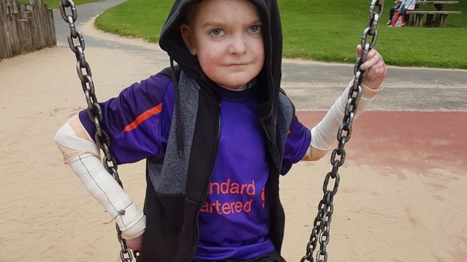 Bolton Mum Appeals For Birthday Cards For Son With Rare