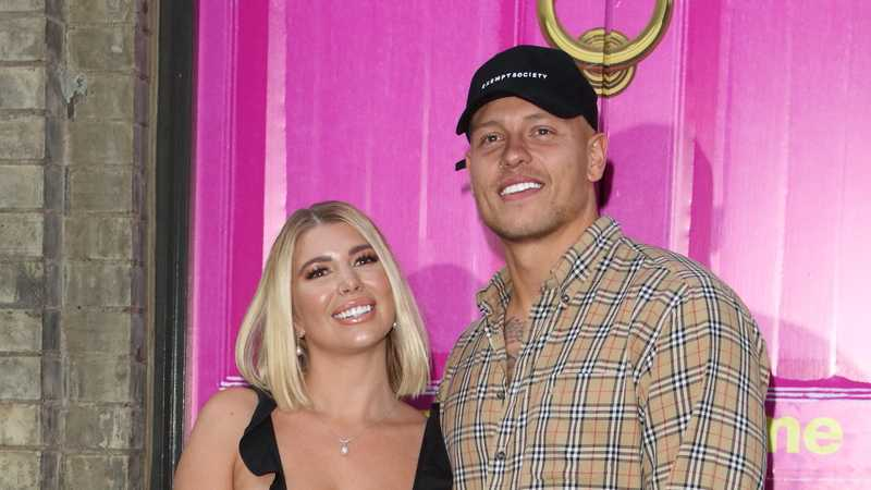 Love Island's Alex Bowen and Olivia Buckland nearly had to cancel their wedding due to a rainstorm