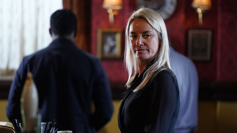 EastEnders spoilers: there's tension on the day of Hunter Owen's funeral
