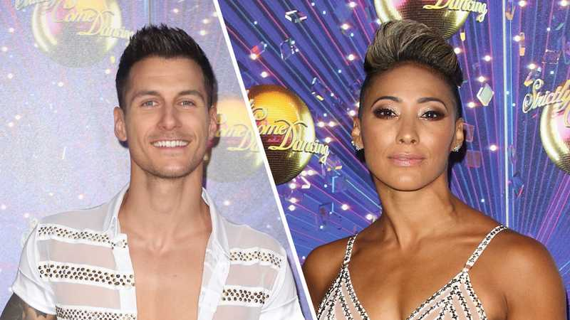Strictly's Gorka Márquez announces Firedance tour with Karen Hauer