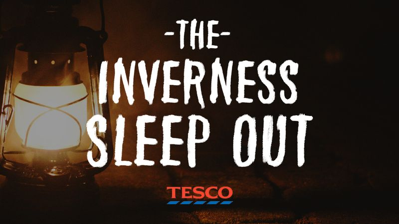 The Inverness Sleep Out