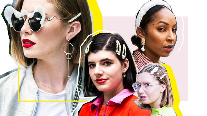 Where To Buy The Best Pearl Hair Accessories, As Seen At NYFW