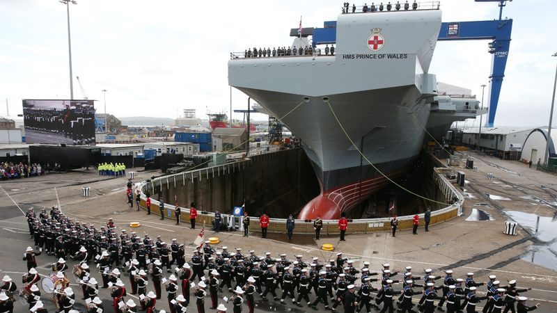 Date revealed for new aircraft carrier's arrival in Portsmouth