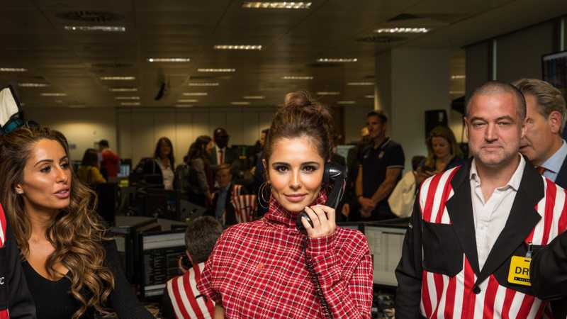 Cheryl gets an office job for the day for charity fundraiser