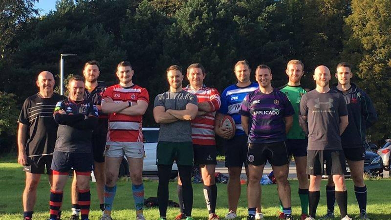 Charity rugby match in Preston- in memory of PC Andrew Harper