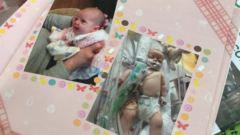 'We were told to prepare for the worst': Mum shares nine-week-old daughter's sepsis horror