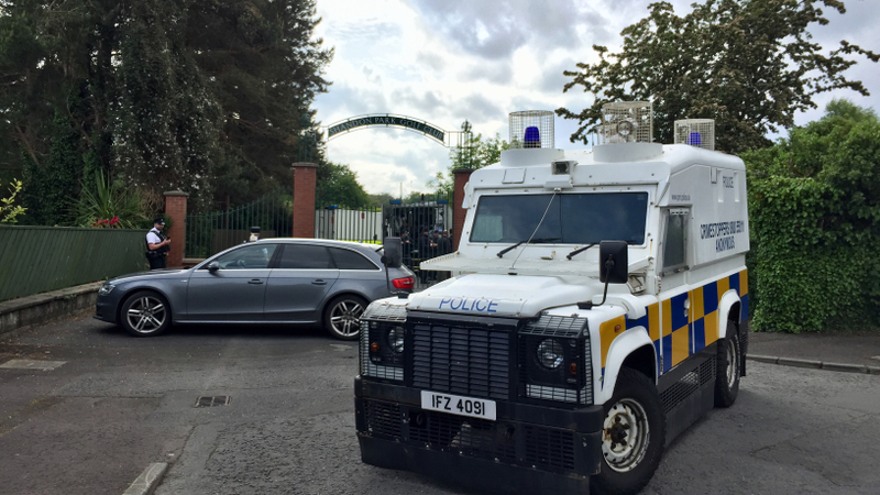 Man charged over bomb found under PSNI officer's car
