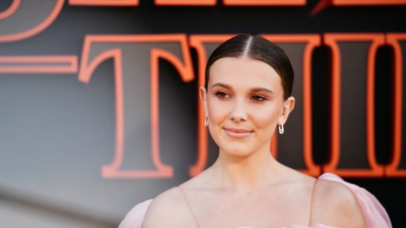 Millie Bobby Brown Has Apologised After She Pretended To Apply Skincare During A Tutorial For Her New Beauty Brand