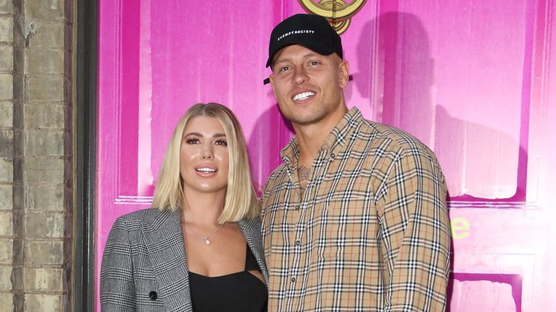 Olivia and Alex Bowen share NAKED photos as they celebrate first wedding anniversary