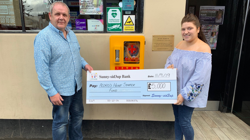 Glasgow woman raising money for defibrillators given boost after Clyde News story