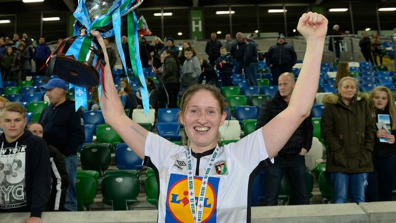 Glentoran going all out to defend NI Women's Challenge Cup title