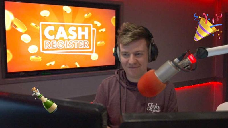 LISTEN: Tuesday's Cash Register caller was the THIRD joiner on a roof to win