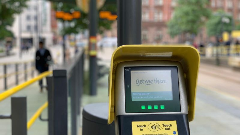 New Metrolink contactless system sees passengers charged £78,000