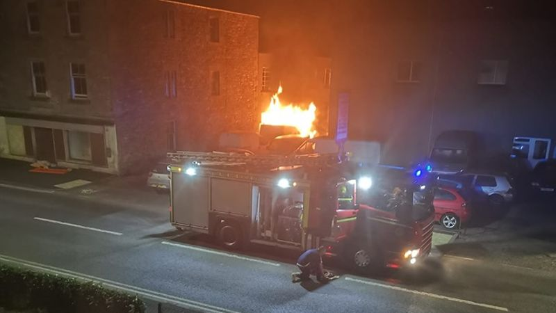 Warning issued after arsonists target second garage in Jedburgh in three days