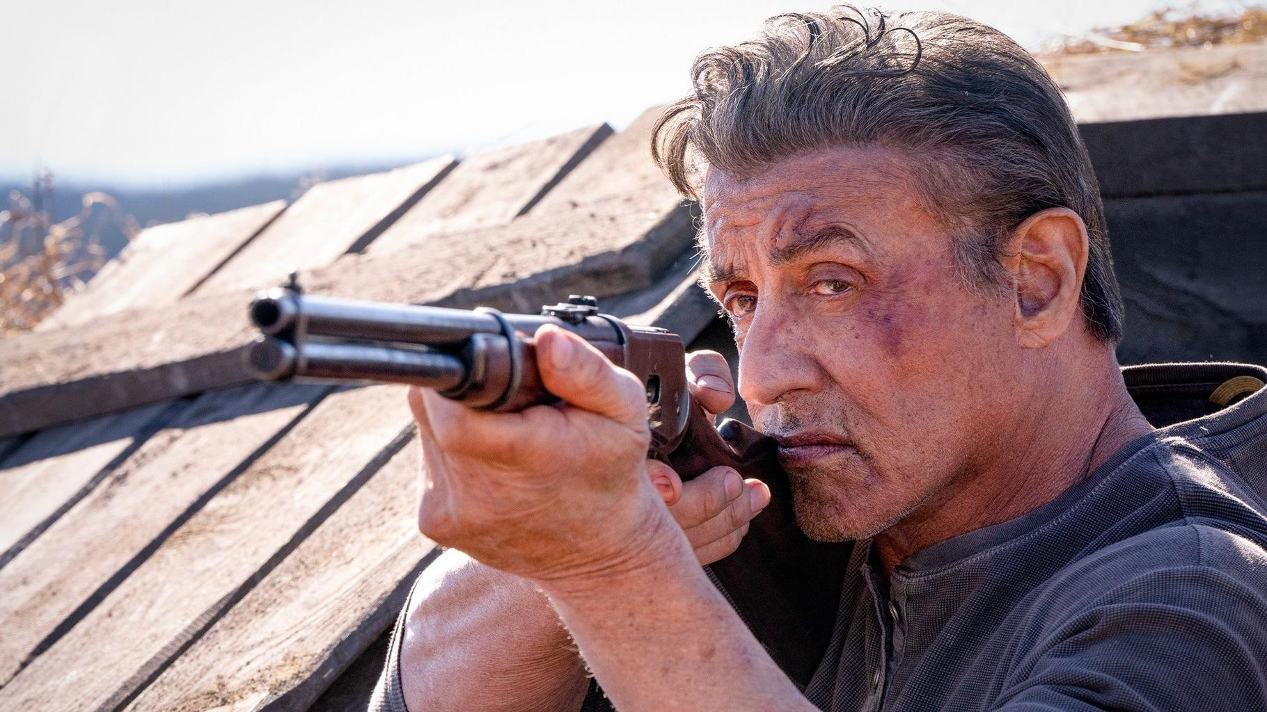 rambo 5 last blood review movie empire Rambo with Knife