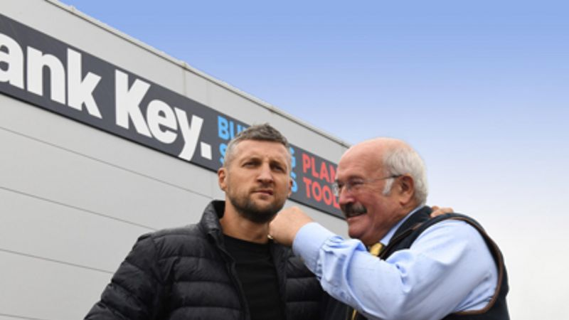 World Boxing Champion Adds Punch to Launch of Flagship Building Supplies Branch