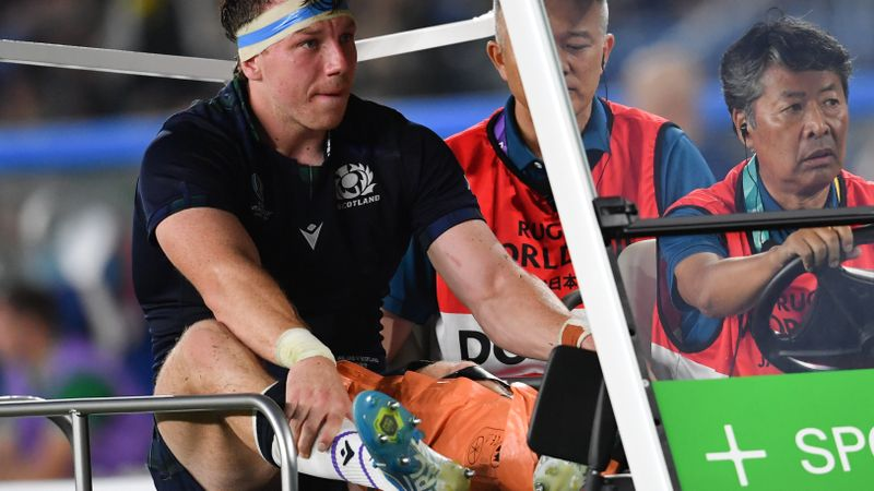 Watson concern for Scotland as flanker suffers knee injury during Ireland defeat