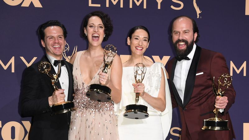 Phoebe Waller-Bridge Thanks The Hot Priest As Fleabag Wins Big At The Emmys