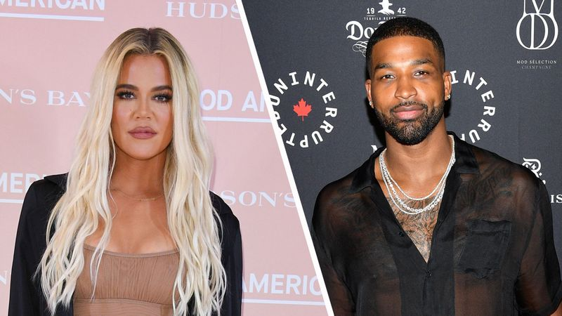 Khloe Kardashian and Tristan Thompson 'back on' after birthday kiss