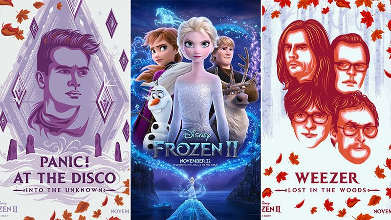 Weezer and Panic! At The Disco record songs for Frozen 2 soundtrack