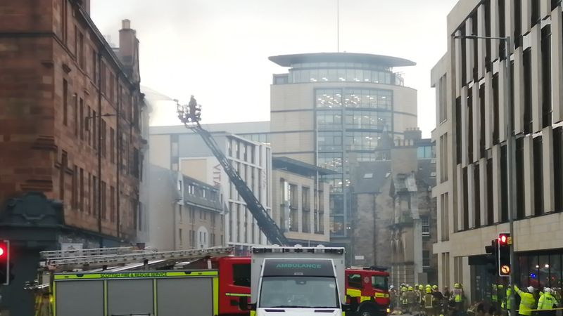 Police name man who died in Fountainbridge explosion