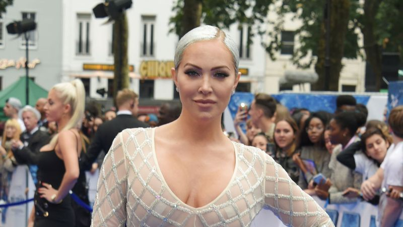 Aisleyne Horgan-Wallace stuns in jaw dropping risqueé dress