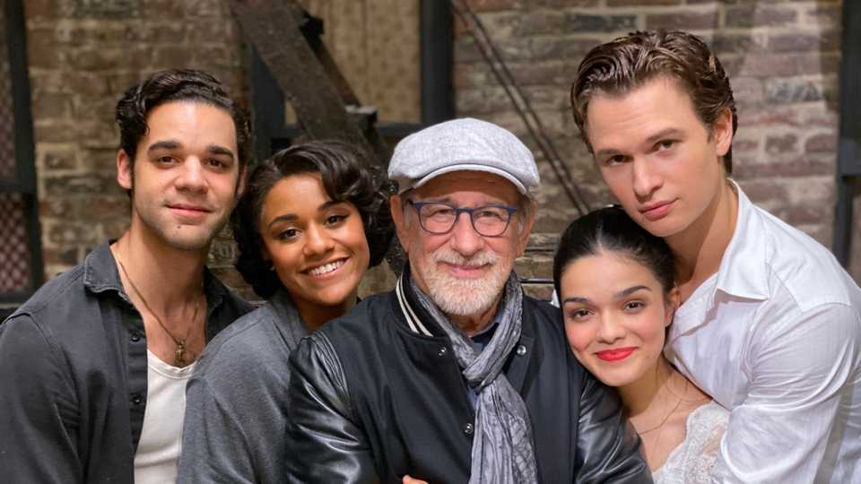 Steven Spielberg Shares Images And Thanks As West Side Story Wraps