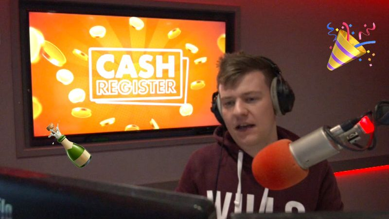LISTEN: We ended the week with a BIG Cash Register winner