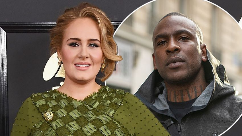 Adele Introduces New Man Skepta To Her Friends Celebrity Heat