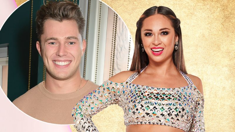 Curtis Pritchard reveals the truth about Katya Jones' 'fake' Strictly fall