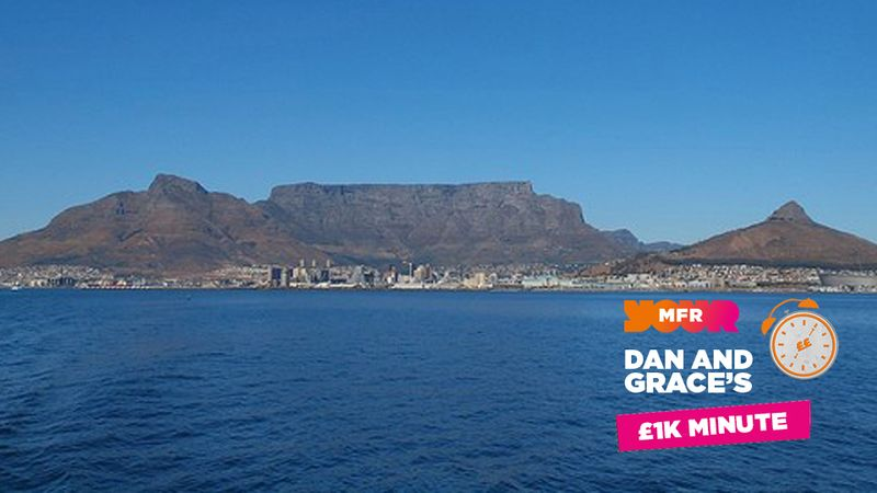 £1K Minute: In which country would you find Table Mountain?