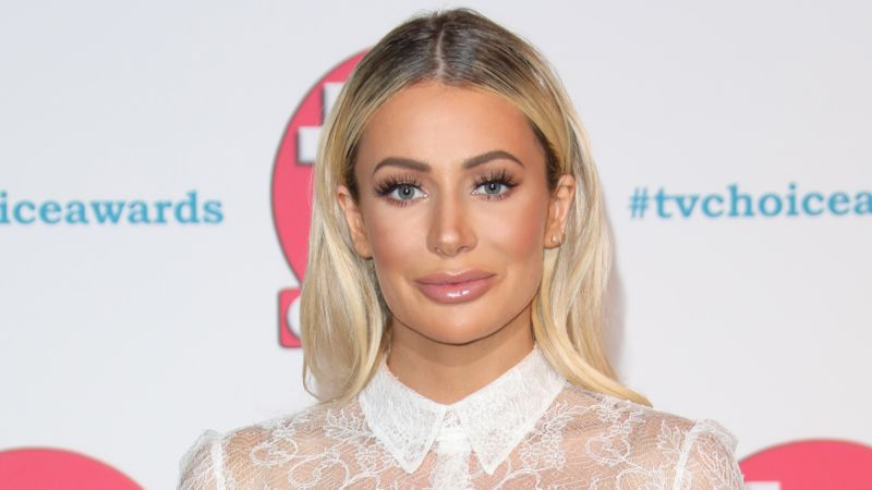 TOWIE's Olivia Attwood shows off results of CHIN liposuction