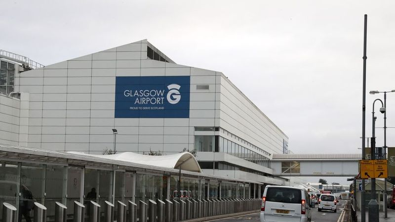 Police confirm man seized at Glasgow Airport is not french fugitive